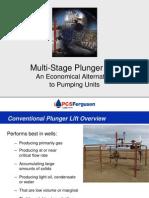 PCS Ferguson Multi Stage Plunger Lift Presentation