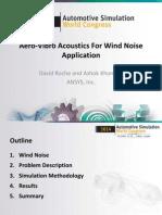 Aswc2014 Aerovibro Acoustics Wind Noise