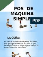 Tipos de Maquina Simple