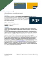 SAP CRM Integration Scenarios - A High Level Approach