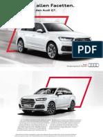 Audi Q7 S line Selection 2015