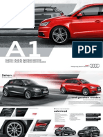 Audi A1 Admired and A1 Admired Plus