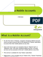 Sales Pitch for Mobile Account