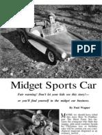 Midget Sports Car