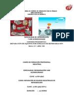 Programa de Estudio Reparacion Equipos Industriales de Refrigeracion