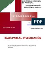 Clase 3 Bases Para Su Investigación Ag 31 2015.Ppt