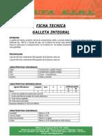 f.t. Galleta Integral