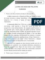 Introdução a Bíblia - Aula 1