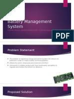liion battery proposal
