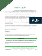 Ash Conversion Cycle