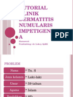 Tutorial Klinik Dermatitis Numularis Impetigenisata