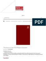 The Insurance Code of the Philippines Annotated