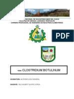 Trabajo de Clostridium Botulinum