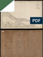 Mapa de la costa desde La Isla Trinidad Hasta Cayena (BDH-BNE)