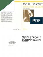 Michel FOUCAULT 1987 Söylemin Düzeni