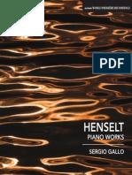 HENSELT, A. Von- Piano Works (Gallo)