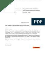 PDF Lettre Type Resiliation