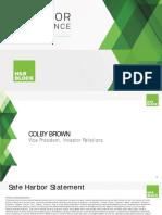HRB H&R Block Investor Conference 2015