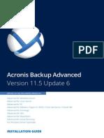 AcronisBackupAdvanced 11.5 Installguide en-US