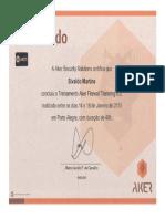 Certificado Aker Firewall 6.5