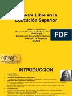Software Libre en la Educación Superior
