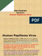 Vaccinarea HPV