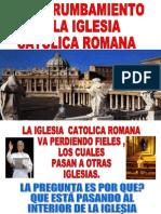 Derrumbe de La Iglesia Catolica