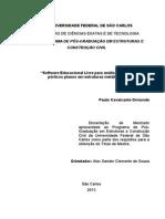 Dissertação de Mestrado-softwares Livres