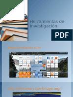 herramientas de investigacion