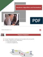 Handover Algorithm and Parameters