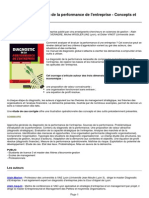 Publication Diagnostic de La Performance de l Entreprise Concepts Et Methodes