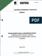 SG-SST Departamento Prosperidad Social