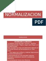 normalisacion