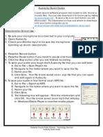 Audacity Quick Guide_1