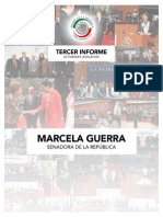 Tercer Informe - Senadora Marcela Guerra