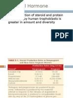 Placental Hormone