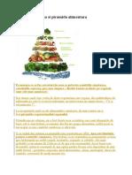 Nutritie Sanatoasa Si Piramida Alimentara