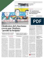 Se Le Niega El Chavizmo a Maduro
