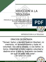 Introduccion a La Teologia Clase 05en Ejecucion