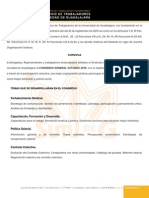 Calendario Programa CGS2015