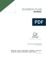 Business Plan Int. Marketing