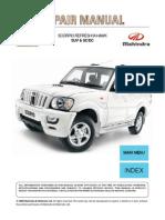 mahindra pik up service manual pdf turbocharger internal rh scribd com Mahindra Bolero Camper mahindra scorpio repair manual pdf