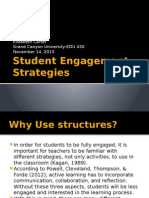 edu 450 student engagement strategies