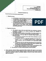 Le document des dix sur la TTF