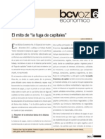 El Mito de La Fuga de Capitales BCV 2014