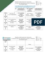 CRONOGRMA DE EVALUACIONES ACADEMICAS JULIO 2015.docx