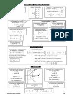 Formulario Geometra Analitica