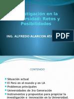 7.- Investigacion en La Universidad