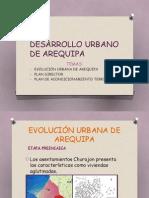 Desarrollo Urbano de Arequipa