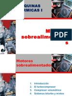 Sobrealimentacion en Motores